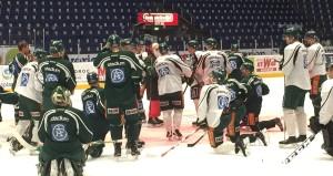 """""""Finns det några snälla hockeyspelare här?"""" Foto: Marie Angle/fbkbloggen"""