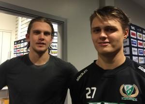 Jesper Nordin och August Gunnarsson! Foto: Marie Angle/fbkbloggen