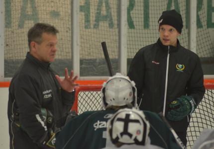 Jonathan Höjd har också han instruerats av Håkan Hermansson under sin aktiva karriär Foto: Joakim Angle/fbkbloggen