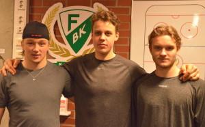 Ni hittar en separat intervju med Asplund, Eriksson Ek och Olofsson här på bloggen under natten. Foto: Joakim Angle/fbkbloggen