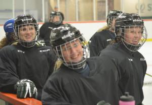 Glädjen är en framgångsfaktor som alla som finns runt damlaget lyfter fram Foto: Joakim Angle/fbkbloggen