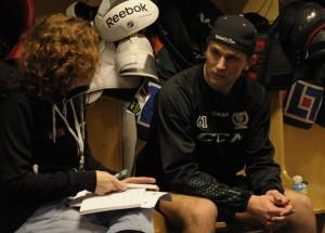 Daniel Gunnarsson har imponerat på Clas Eriksson under försäsongsträningen Foto: Robin Angle/fbkbloggen