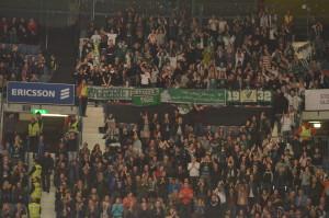 Massor av tillresta fans från Karlstad och Värmland! Härligt! Foto: Joakim Angle/fbkbloggen