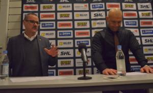 De båda coacherna var ganska eniga i sina respektive matchanalyser Foto: Joakim Angle/fbkbloggen