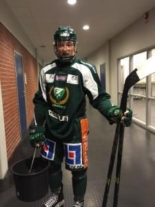 Rasmus Asplund klagar inte över sin lott - han är lika positiv som alltid! Foto: Marie Angle/fbkbloggen