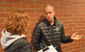Anton Karlsson tycker att laget stod för en stabil insats i Leksand Foto: Joakim Angle/fbkbloggen