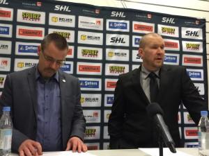 Presskonferensen efter Luleåmatchen Foto: Marie Angle/fbkbloggen