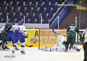 Mål! Victor Ejdsell fortsätter att glöda i sitt J20. Nästa år spelar han med A-laget! Foto: Simone Syversson/Enomis