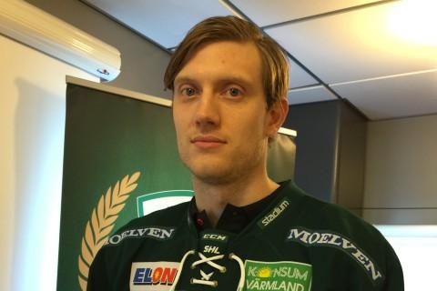 Vi välkomnar Johan Ryno till Färjestad! Foto: Marie Angle/fbkbloggen