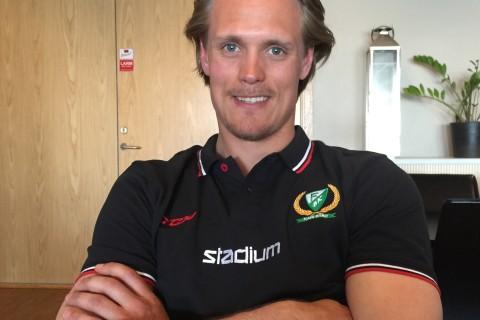 Magnus Nygren är hemma igen! Foto: Marie Angle/fbkbloggen