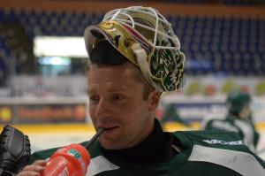 Lars Haugen får beröm av Tommy Samuelsson för sin fysiska status Foto: Joakim Angle/fbkbloggen