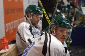 Kapten Nygga och nyförvärvet Mikael Wikstrand bildade backpar under säsongens första träning. Separat intervju med den sistnämnde kommer på bloggen under helgen Foto: Joakim Angle/fbkbloggen