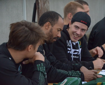 Sebastian Erixon fick en del speltid i powerplay tillsammans med backkollegan Jonas Holös