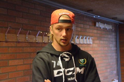 Rasmus Asplund är redo för en ny säsong och en ny roll i A-laget Foto: Joakim Angle/fbkbloggen