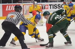 Joel Eriksson Ek fortsätter få mycket speltid och syntes både i boxplay och powerplay Foto: Joakim Angle/fbkbloggen