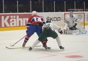 Uppförsbacke under i stort sett hela matchen mot Norge, och Färjestad slet förgäves för en kvittering i slutminuterna Foto: Joakim Angle/fbkbloggen