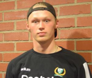 Är Lukas Enqvist nästa juniorspelare att få prova på att träna/spela med A-laget? Många står på tur...Foto: Joakim Angle/fbkbloggen