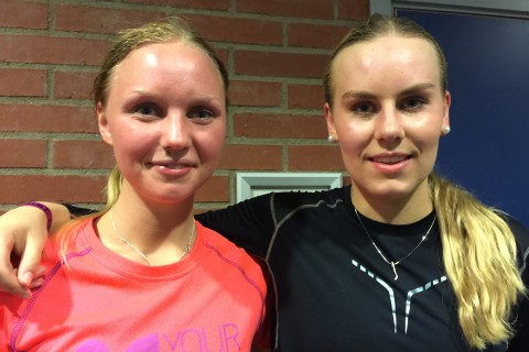Karin Åström och Josefine Biseth Engmann Foto: Marie Angle/fbkbloggen