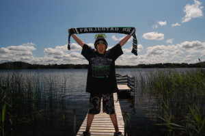 Adde Schmidt från Vänersborg tävlade med den här sköna sommarbilden!