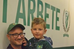 Stort hjärta och hårt arbete - Martin Lahtinen är trogen FBK-supporter i Gevalialand! Foto: Joakim Angle/fbkbloggen