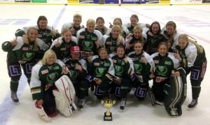 Segrande Färjestad gick obesegrade ur Trollhättan Hockey Trophy! Foto: FBK Dam