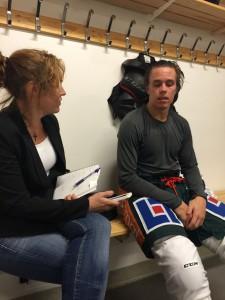 Joakim Nygård har förberett sig väl och ser fram emot en ny säsong Foto: Joakim Angle/fbkbloggen