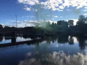 """""""Solen skiner över Karlstad, Brynäs de kan inte vinna!"""" Foto: Joakim Angle/fbkbloggen"""