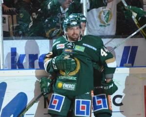 Vanligtvis i samma lag - nästa vecka ställs Milan Gulas och Magnus Nygren mot varandra redan i öppningsmatchen i Karjala CupFoto: Joakim Angle/fbkbloggen