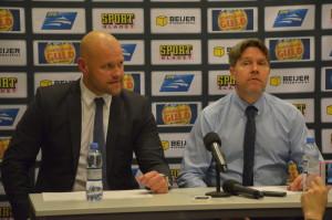 Vår Ante Karlsson var, av förklarliga skäl, inte lika nöjd som Modo-kollegan efter kvällens match Foto: Joakim Angle/fbkbloggen