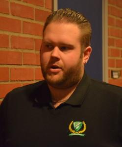 Jacob Johansson, ny assisterande tränare i J18 den här säsongen. Foto: Joakim Angle/fbkbloggen
