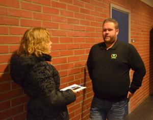 Vare sig lagets assisterande tränare, Jacob Johansson, eller av laget var nöjda med onsdagens bortamatch mot BIK Karlskoga. Foto: Joakim Angle/fbkbloggen