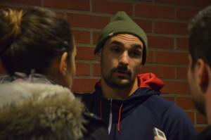Rahimis tackling och straff fick stor uppmärksamhet bland pressuppbådet efter matchen. Fortsättning lär följa... Foto: Joakim Angle/fbkbloggen